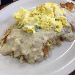 eggs gravy hashbrowns keystone kafe breakfast lunch diner omaha NE