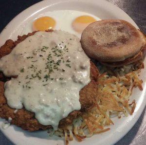 chicken fried steak keystone kafe breakfast lunch diner omaha NE